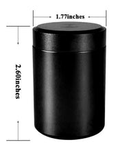 Load image into Gallery viewer, Aluminum Stash Jar - Black