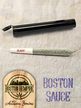 "Load image into Gallery viewer, Boston Sauce Pre Roll ""Fatties"" - 1.25+ gram, 13.5% CBD"