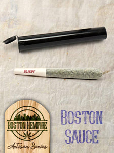 "Boston Sauce Pre Roll ""Fatties"" - 1.25+ gram, 13.5% CBD"