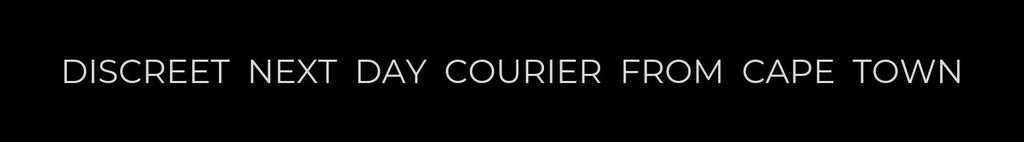 DISCREET NEXT DAY COURIER FROM CAPE TOWN