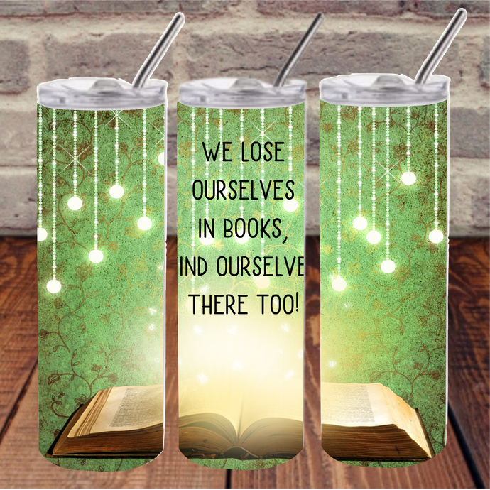Lose ourselves in books digital designs