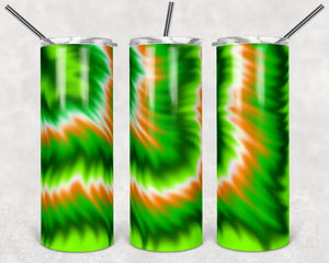 Irish Tie Dye Digital Design