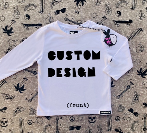Custom Design (Front Only)
