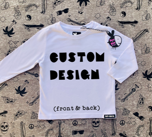Custom Design (Front & Back)