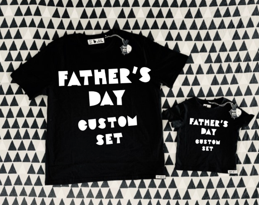 Father's Day Custom Set