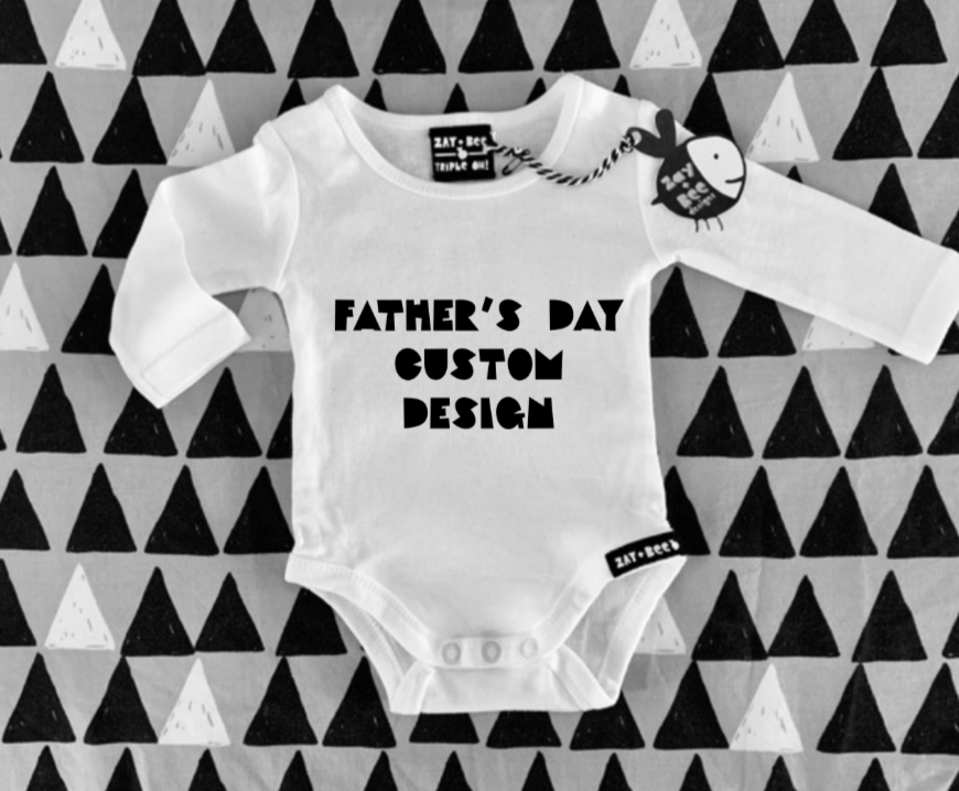 Father's Day Custom Design - Child