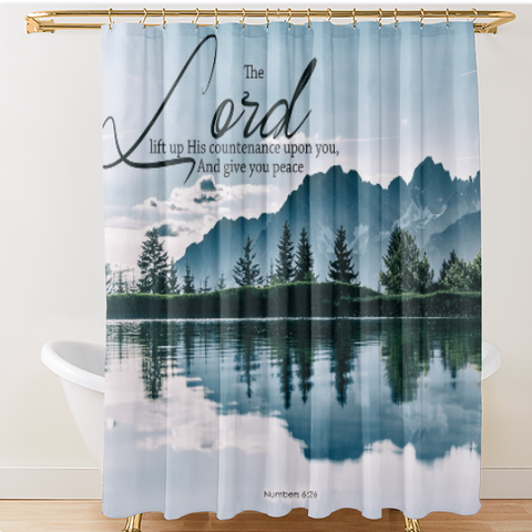 Luxury Oxford Fabric Shower Curtains