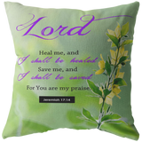 MeditateHealing.com Superior Broadcloth Fabric Throw Pillow Case