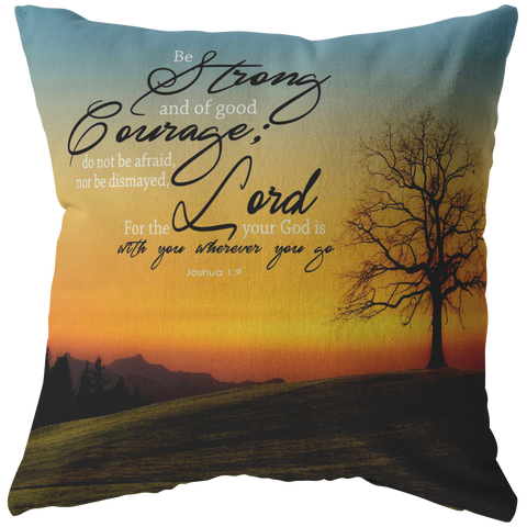 God Is With You Wherever You Go ~Joshua 1:9~ - Meditate Healing Christian Store