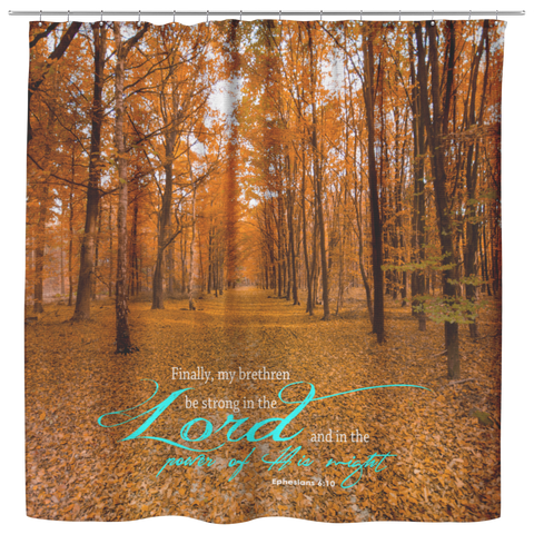 Be Strong In The Lord ~Ephesians 6:10~ - Meditate Healing Christian Store