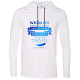 "Bible Verse Men Long Sleeve T-Shirt Hoodie - ""Psalm 61:2"" Design 13 - Meditate Healing Christian Store"