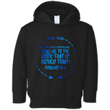 "Bible Verses Toddler Fleece Hoodie - ""Psalm 61:2"" Design 8 - Meditate Healing Christian Store"