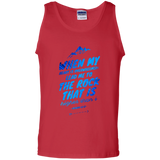 "Bible Verse Men 100% Cotton Tank Top - ""Psalm 61:2"" Design 14 - Meditate Healing Christian Store"