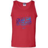"Bible Verse Men 100% Cotton Tank Top - ""Psalm 61:2"" Design 12 - Meditate Healing Christian Store"