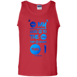 "Bible Verse Men 100% Cotton Tank Top - ""Psalm 61:2"" Design 9 - Meditate Healing Christian Store"