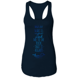"Bible Verses Ladies Ideal Racerback Tank - ""Psalm 61:2"" Design 2 - Meditate Healing Christian Store"