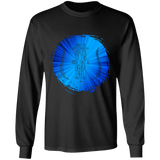 "Bible Verse Long Sleeve Ultra Cotton T-Shirt - ""Psalm 61-2"" Design 16 - Meditate Healing Christian Store"