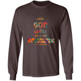 "Bible Verse Long Sleeve Ultra Cotton T-Shirt - ""Psalm 73:26"" Design 2 - Meditate Healing Christian Store"