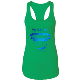 "Bible Verses Ladies Ideal Racerback Tank - ""Psalm 61:2"" Design 13 - Meditate Healing Christian Store"