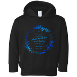 "Bible Verses Toddler Fleece Hoodie - ""Psalm 61:2"" Design 19 - Meditate Healing Christian Store"