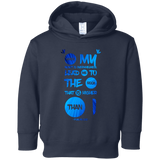 "Bible Verses Toddler Fleece Hoodie - ""Psalm 61:2"" Design 9 - Meditate Healing Christian Store"