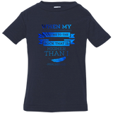 "Bible Verse Infant Jersey T-Shirt - ""Psalm 61:2"" Design 13 - Meditate Healing Christian Store"