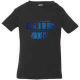 "Bible Verse Infant Jersey T-Shirt - ""Psalm 61:2"" Design 4 - Meditate Healing Christian Store"
