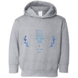 "Bible Verses Toddler Fleece Hoodie - ""Psalm 61:2"" Design 10 - Meditate Healing Christian Store"