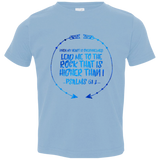 "Bible Verse Toddler Jersey T-Shirt - ""Psalms 61:2"" Design 8 - Meditate Healing Christian Store"