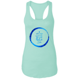 "Bible Verses Ladies Ideal Racerback Tank - ""Psalm 61:2"" Design 15 - Meditate Healing Christian Store"