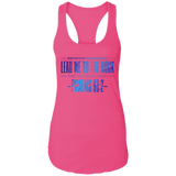 "Bible Verses Ladies Ideal Racerback Tank - ""Psalm 61:2"" Design 4 - Meditate Healing Christian Store"