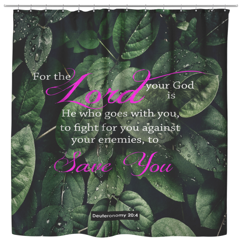 The Lord My God Saves Me ~Deuteronomy 20:4~ - Meditate Healing Christian Store