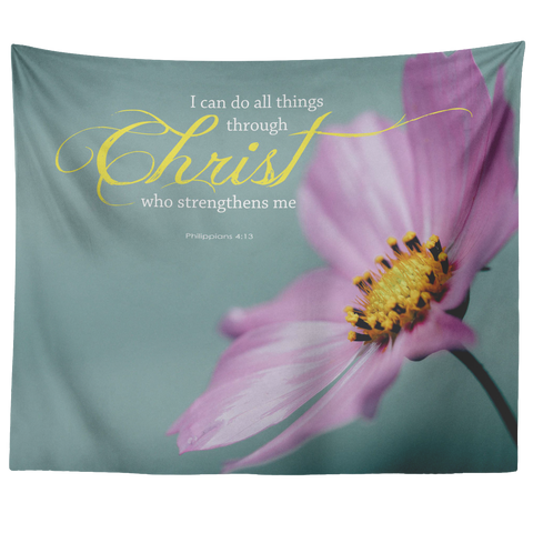 Christ Strengthens Me ~Philippians 4:13~ - Meditate Healing Christian Store