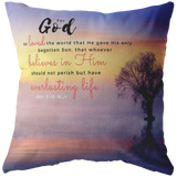 Believe In Him For Everlasting Life ~John 3:16~ - Meditate Healing Christian Store