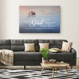 Gallery Quality Framed Canvas Art - God Fulfill Your Every Desire ~2 Thessalonians 1:11~