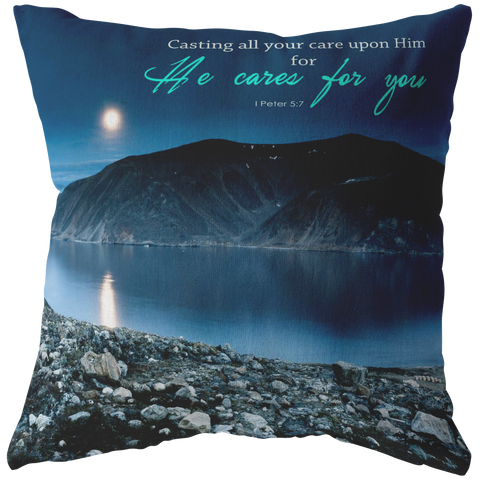 Casting Your Care Upon Him ~I Peter 5:7~ - Meditate Healing Christian Store