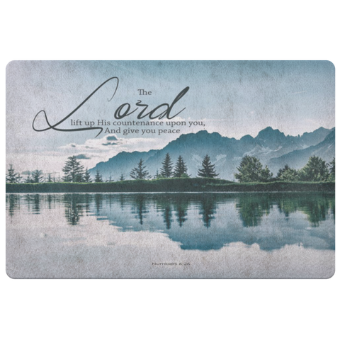 The Lord Gives You Peace ~Numbers 6:26~ - Meditate Healing Christian Store