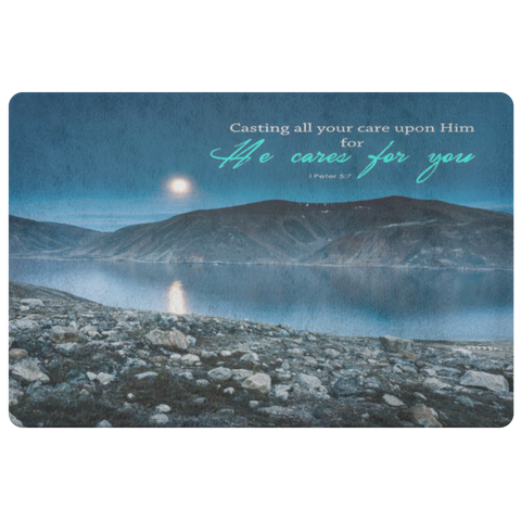 Casting Your Care Upon Him ~1 Peter 5:7~ - Meditate Healing Christian Store