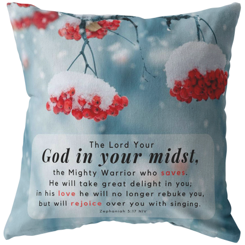 God In Your Midst ~Zephaniah 3:17~ - Meditate Healing Christian Store