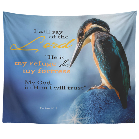 MeditateHealing.com Christian Tapestry