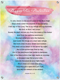 Products Luminous Contemporary Acrylic Print - Prayer for Protection ~Psalm 91:1-8~ (Design: Watercolor 1)