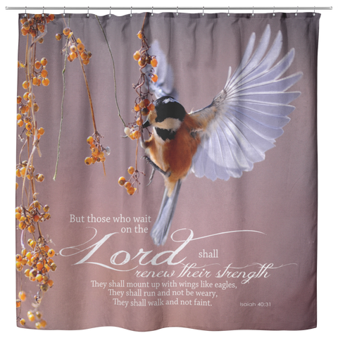 The Lord Renew My Strength ~Isaiah 40:31~ - Meditate Healing Christian Store