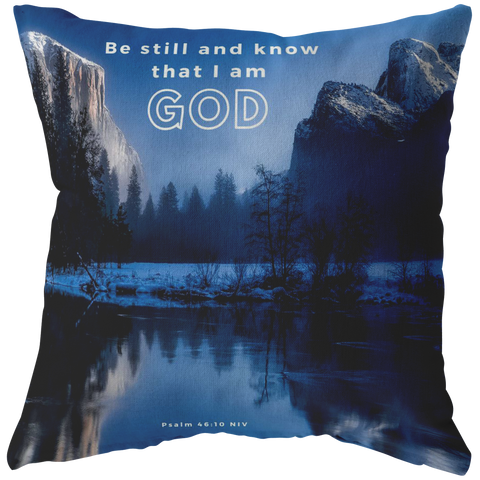 Be still, and know that I am God ~Psalms 46:10~ - Meditate Healing Christian Store