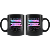 Bible Verses Black Mugs - Joshua 1:9 (Design 2) - Meditate Healing Christian Store