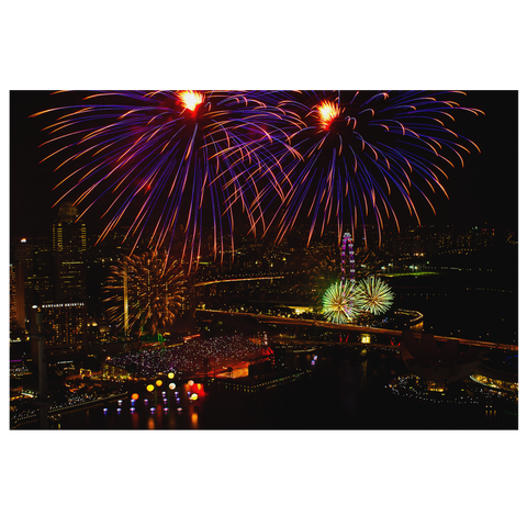 Cityscape - NDP Fireworks #3