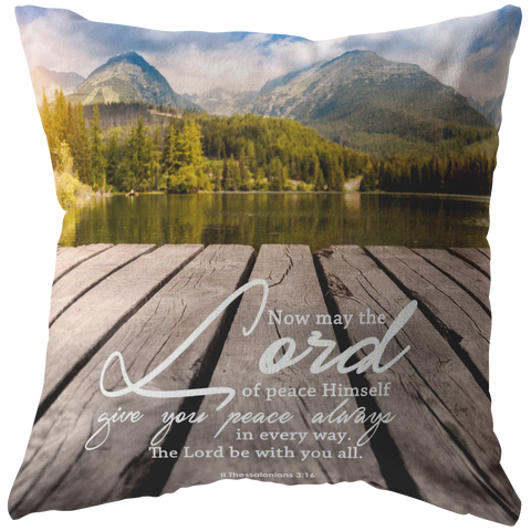 The Lord Gives Peace ~II Thessalonians 3:16~ - Meditate Healing Christian Store