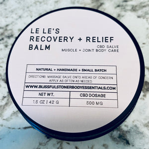 Rosemary & Lemongrass Mint CBD Body Butter
