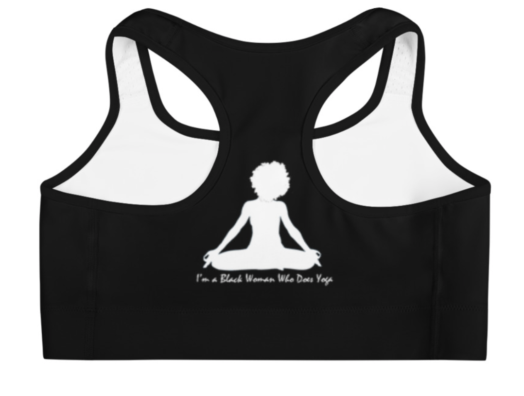 I'm a Black Woman Who Does Yoga Bra