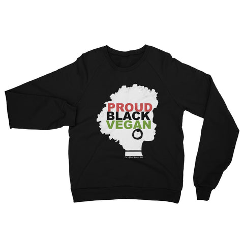 Proud Black Vegan Sweatshirt