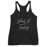 Black, Fit and Traveling Racerback Tank